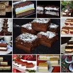 Cakes and pastries for Christmas