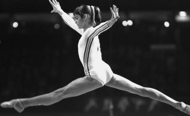 World Famous Romanians - Nadia Comaneci in Montreal