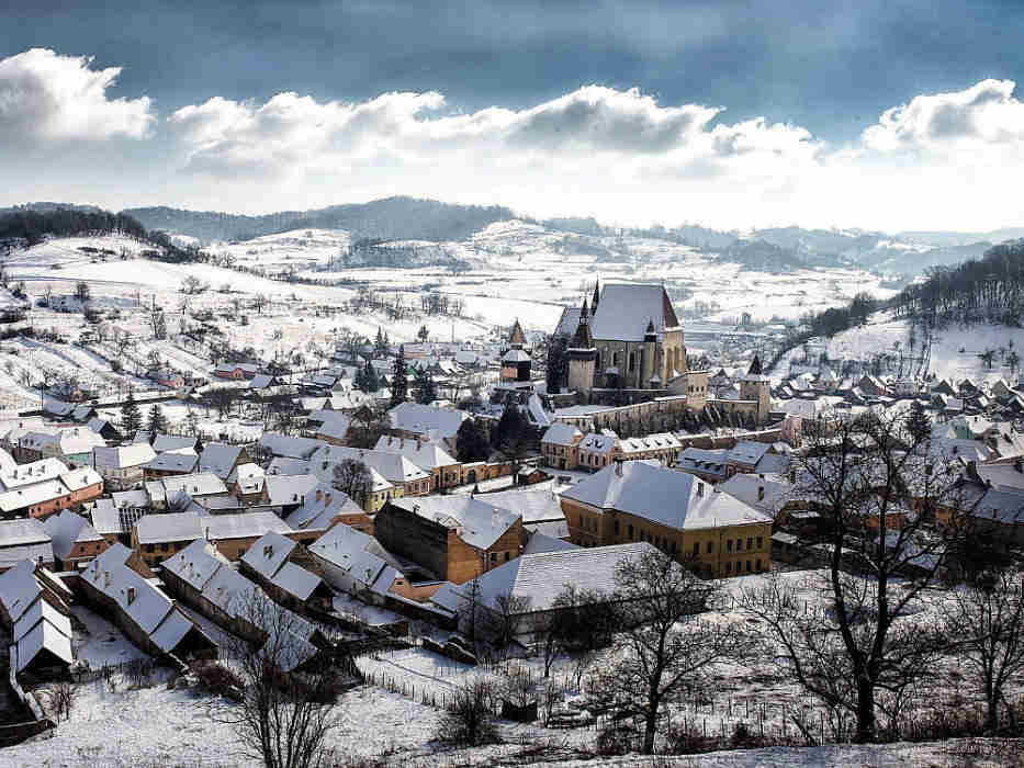 Biertan village is a World Heritage Site on UNESCO's list