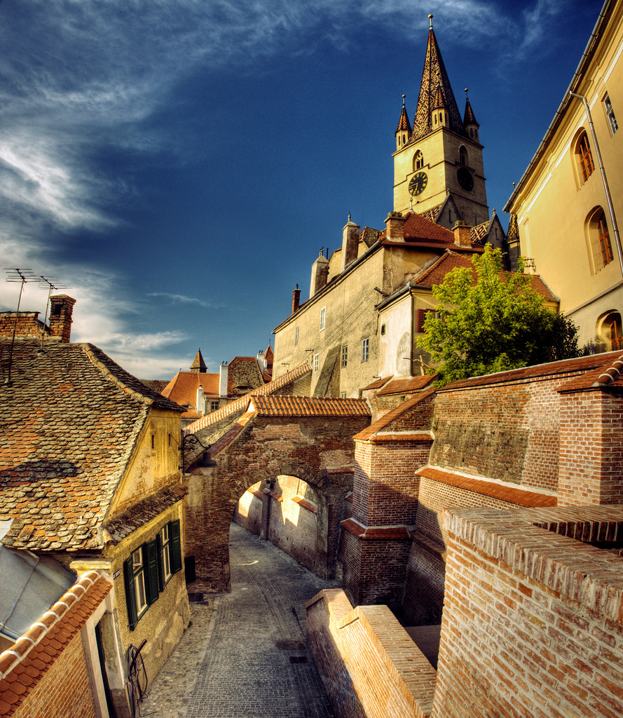 Sibiu was voted European Capital of Culture in 2007 along with Luxembourg