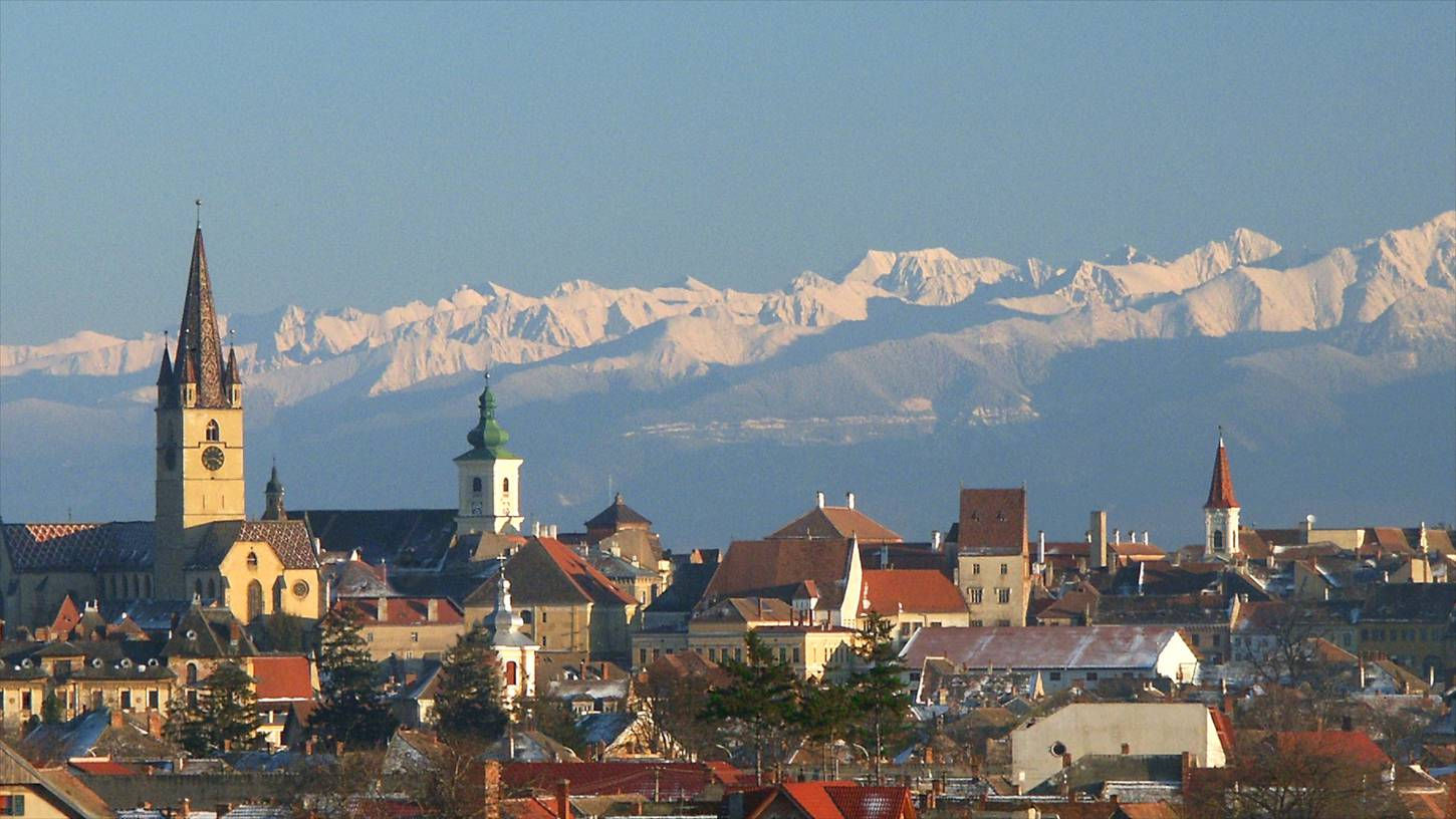 Sibiu was ranked as 'Europe's 8th-most idyllic place to live' by Forbes in 2008