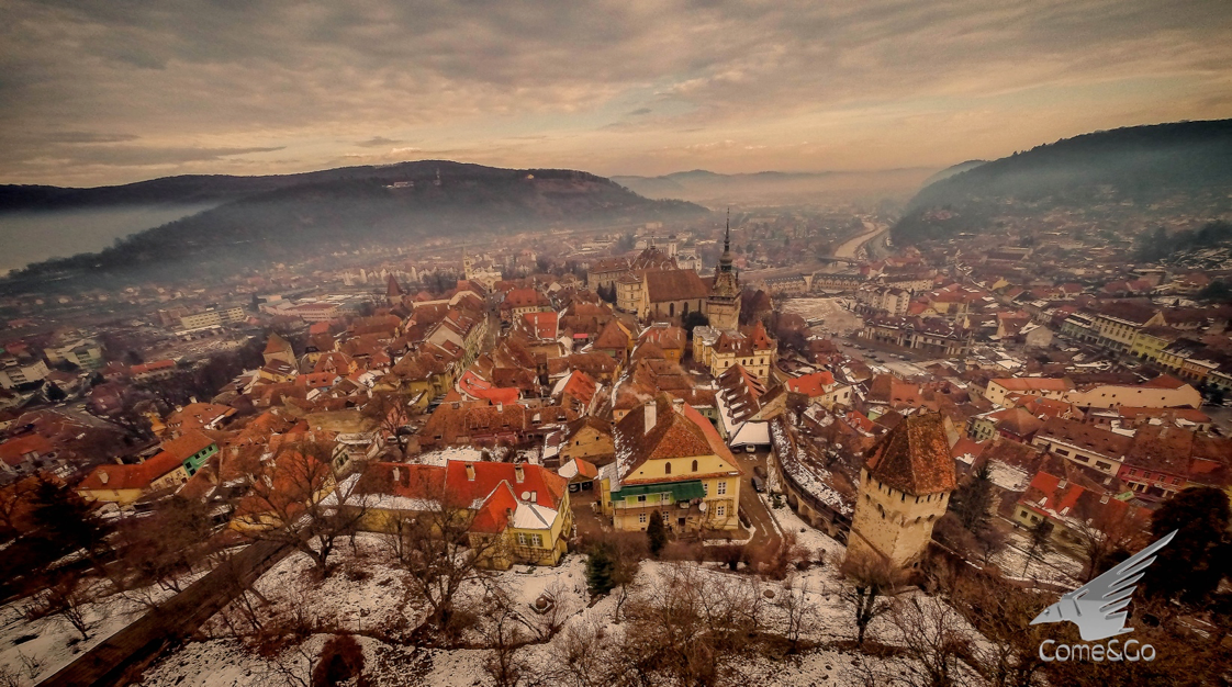 Sighisoara is the best preserved medieval town in Europe
